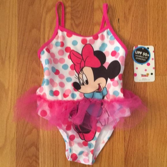 dda4739f0e083 Disney Swim   Nwtinfant Girls Minnie Mouse Suit   Poshmark